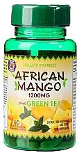 Духи, Парфюмерия, косметика Пищевая добавка - Holland & Barrett African Mango With Green Tea 1200mg