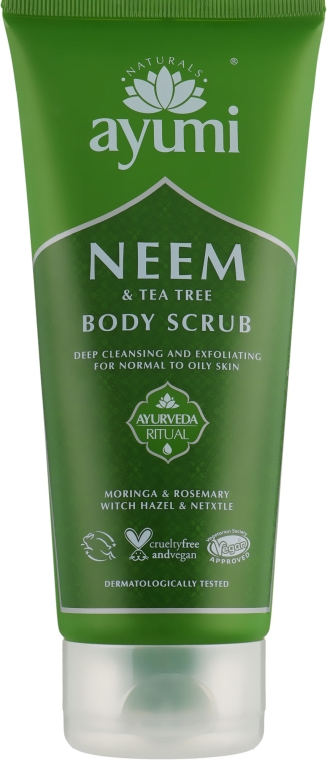 Скраб для тела - Ayumi Neem & Tea Tree Body Scrub