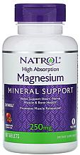 Духи, Парфюмерия, косметика Легкоусвояемый магний, со вкусом клюквы и яблока, 250 mg - Natrol Magnesium