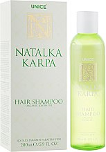 Духи, Парфюмерия, косметика Шампунь для волос c маслом жожоба - Unice Natalka Karpa Organic Shampoo