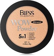 Компактная пудра для лица - Bless Beauty WOW Powder SPF 15 — фото N3