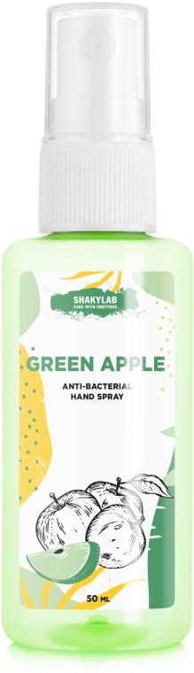 "Антибактериальный спрей для рук ""Green apple"" - SHAKYLAB Anti-Bacterial Hand Spray"