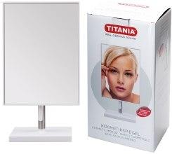 Зеркало косметическое в раме, 13х26 см, прямоугольное - Titania — фото N2