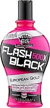 Духи, Парфюмерия, косметика Крем-бронзант для загара в солярии, с формулой для сохранения цвета - European Gold Flash Black 500X