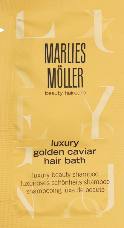 Шампунь с экстрактом черной икры - Marlies Moller Luxury Golden Caviar Hair Bath (пробник)