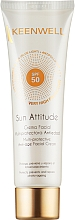 Духи, Парфюмерия, косметика Мультизащитный антивозрастной крем для лица SPF50 - Keenwell Sun Attitude Multi-Protective Anti-Age Facial Cream SPF 50