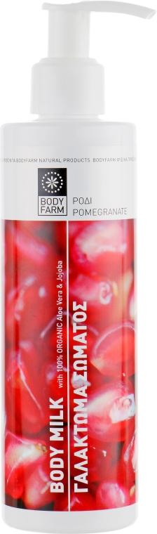 """Молочко для тела """"Гранат"""" - Bodyfarm Body Milk Pomegranate — фото N1"""