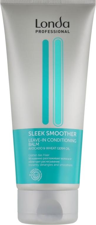 Несмываемый разглаживающий бальзам-кондиционер - Londa Professional Sleek Smoother Leave-In Conditioning Balm