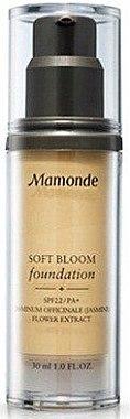Тональный крем SPF22 PA+ - Mamonde Soft Bloom Foundation SPF22 PA+  — фото N1