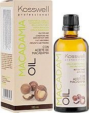 Духи, Парфюмерия, косметика Восстанавливающее масло для волос - Kosswell Professional Macadamia Oil
