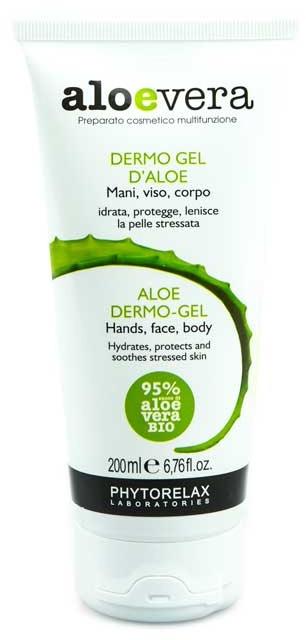 Гель для лица, тела и рук - Phytorelax Laboratories Aloe Vera Aloe Dermo Gel