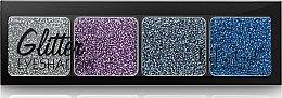 Глиттерные тени - DoDo Girl 4 Colors Glitter Eyeshadow — фото N2