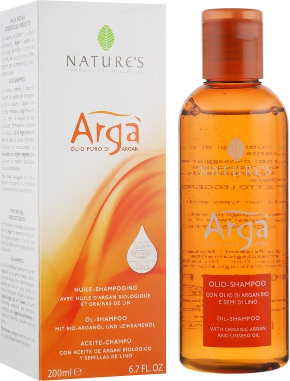 """Шампунь """"Аргановый"""" для частого использования - Nature's Arga Oil-Shampoo"""