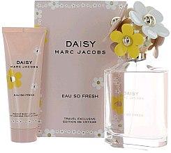 Духи, Парфюмерия, косметика Marc Jacobs Daisy Eau So Fresh - Набор (edt/125ml + b/lol/75ml)