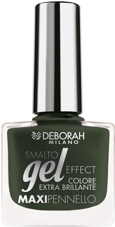 Лак для ногтей - Deborah Gel Effect Nail Enamel