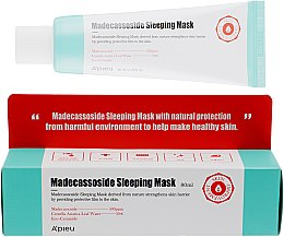 Духи, Парфюмерия, косметика Ночная маска для лица - A'pieu Madecassoside Sleeping Mask
