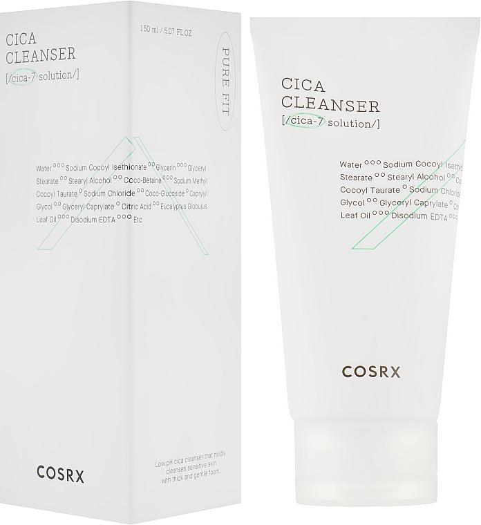 Нежная пенка для умывания - Cosrx Pure Fit Cica Cleanser