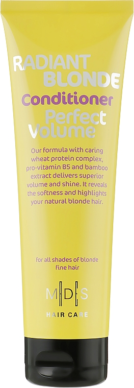 Кондиционер «Идеальный объем. Сияющий блонд» - Mades Cosmetics Radiant Blonde Perfect Volume Conditioner