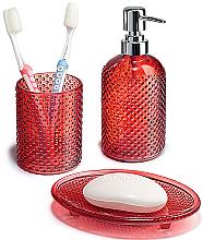 Духи, Парфюмерия, косметика Набор для ванной комнаты, красный - Faberlic
