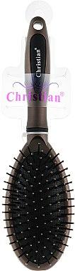 Щетка для волос, CR-4245, бронзовая - Christian