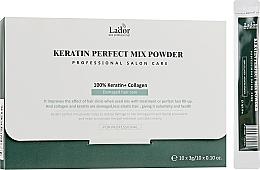 Духи, Парфюмерия, косметика Порошковая маска с 100% кератином и коллагеном - La'dor Keratin Perfect Mix Powder