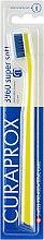 Духи, Парфюмерия, косметика Зубная щётка «Super Soft», желтая с синей щетиной - Curaprox
