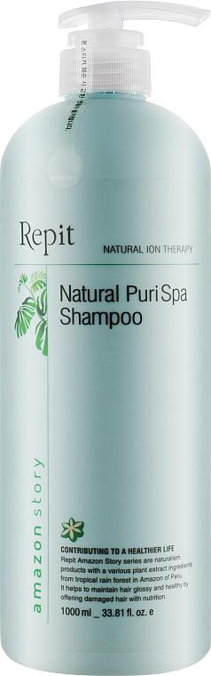 Шампунь освежающий для волос, склонных к жирности - Repit Natural Puri SPA Amazon Story