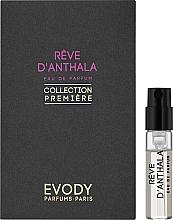 Духи, Парфюмерия, косметика Evody Parfums Reve d'Anthala - Парфюмированная вода (пробник)