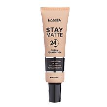 Духи, Парфюмерия, косметика Тональный крем - Lamel Professional Stay Matte 24H Cream Foundation