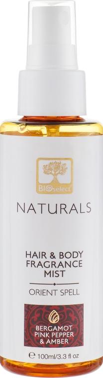 """Парфюмированный спрей для тела и волос """"Восточное заклинание"""" - BIOselect Naturals Fragrance Mist"""