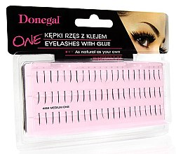 Духи, Парфюмерия, косметика Накладные пучки, 4464 - Donegal Eye Lashes With Glue Medium One