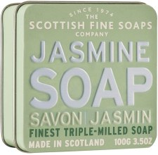 "Духи, Парфюмерия, косметика Мыло ""Жасмин"" - Scottish Fine Soaps Jasmine Soap In A Tin"