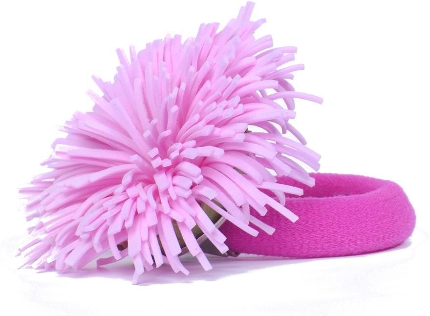 "Резинка для волос ""Розовый одуванчик"" - Katya Snezhkova"