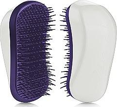 Духи, Парфюмерия, косметика Щетка для волос - Dessata Original White-Purple