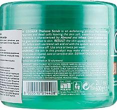 Талассо-скраб для тела с морской солью Мертвого моря и маслами миндаля и пшеницы - Geomar — фото N2