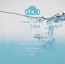 Духи, Парфюмерия, косметика Увлажняющий крем для ног - LCN Urea 10% Foot Cream (пробник)