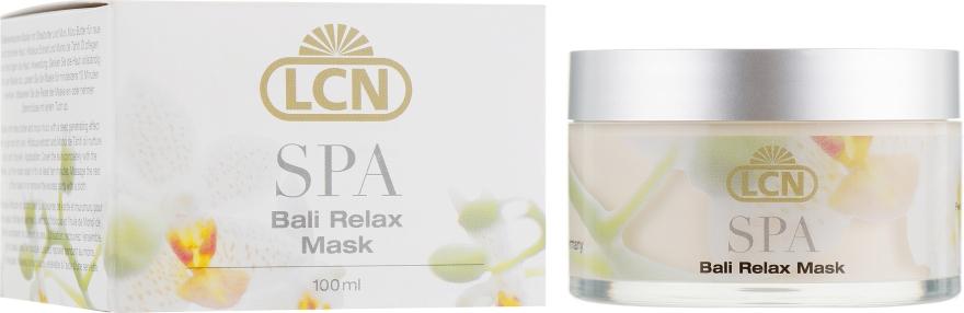 Маска для сухой и грубой кожи с маслом дерева ши и мурумуру - LCN SPA Bali Relax Mask — фото N1