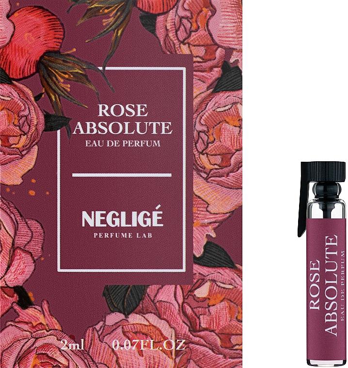 Neglige Rose Absolute - Парфюмированная вода (пробник)