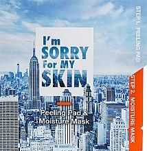 Духи, Парфюмерия, косметика Маска для лица - Ultru I'm Sorry For My Skin Peeling Pad & Moisture Mask