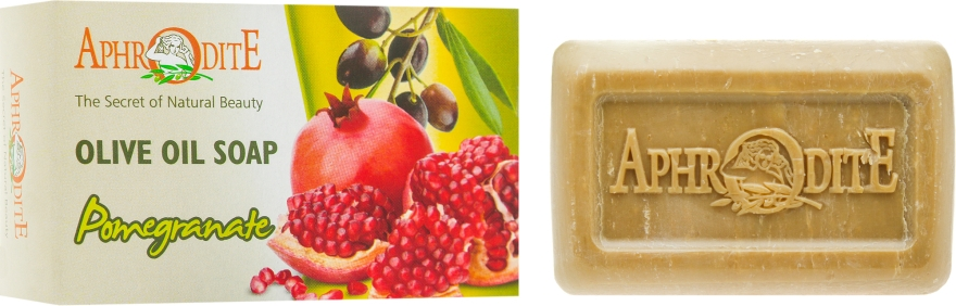 Оливковое мыло с экстрактом граната - Aphrodite Olive Oil Soap