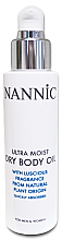 Духи, Парфюмерия, косметика Увлажняющее сухое масло для тела - Nannic Ultra Moist Dry Body Oil
