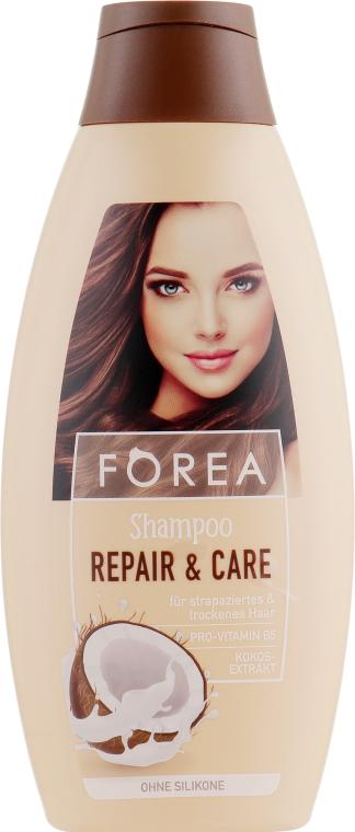 Шампунь для волос c натуральным маслом кокоса - Forea Repair & Care Shampoo