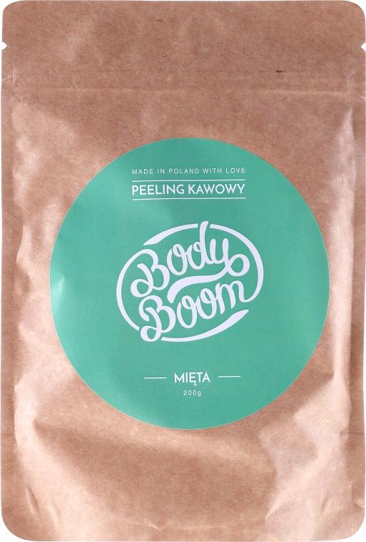 Кофейный скраб, мята - Body Boom Coffee Scrub Mint