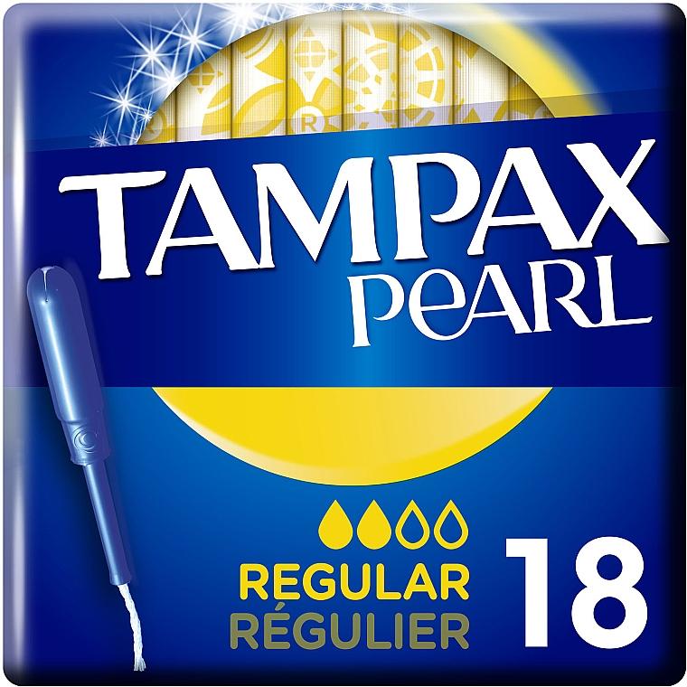 Тампоны с аппликатором, 18шт - Tampax Pearl Regular