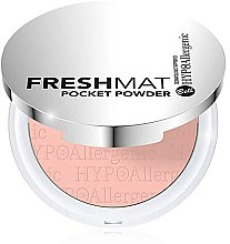 Духи, Парфюмерия, косметика Пудра для лица - Bell Hypoallergenic Fresh Mat Pocket Powder