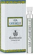Духи, Парфюмерия, косметика Carthusia Via Camerelle - Туалетная вода (пробник)