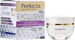 Духи, Парфюмерия, косметика Регенерирующий крем от морщин - Perfecta Exclusive Face Cream 80+