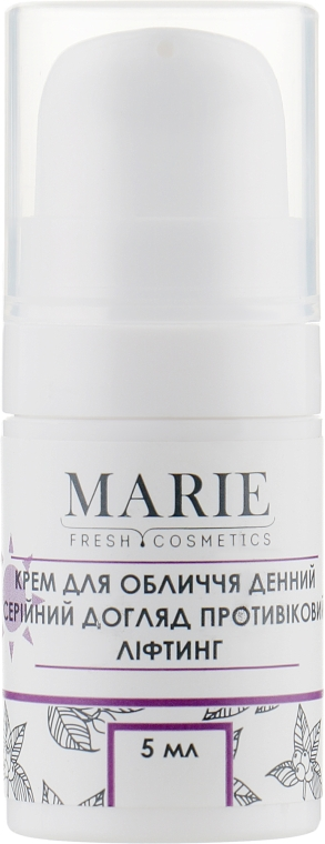 Дневной лифтинг-крем для лица - Marie Fresh Cosmetics Anti-Age Lifting Day Cream (мини)