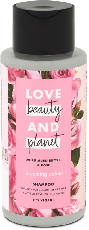 "Шампунь для волос ""Цветущий цвет"" - Love Beauty&Planet Muru Muru Butter & Rose"