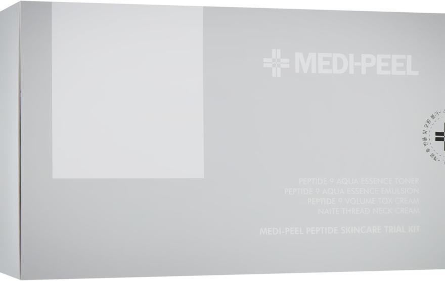 Набор - Medi Peel Peptide Skincare Trial Kit (toner/30ml + emulsion/30ml + cr/10g + cr/10g)